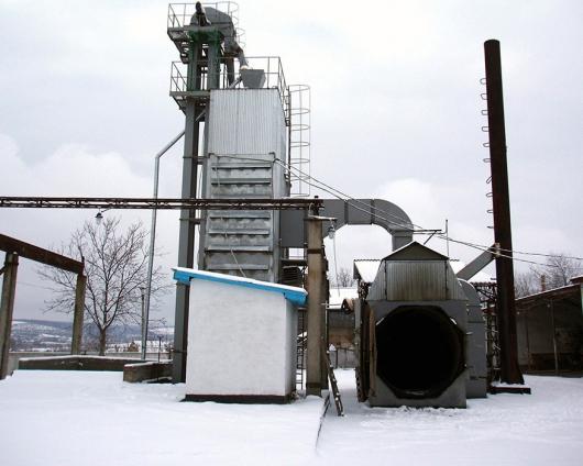 Зерносушильный комплекс КС-8
